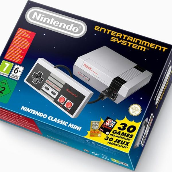 Nintendo Is Kicking It Back With Old School Video Games + Mini NES Console