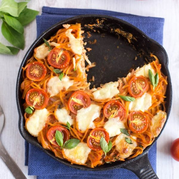 Liven Up Your Leftovers With This Spaghetti Frittata