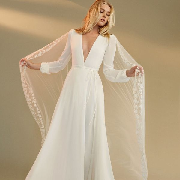 Prepare to Swoon HARD Over Reformation's New Fall Bridal Collection