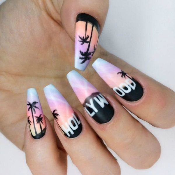 13 Reasons Why Coffin Nails Are the Hottest Mani Trend for Summer