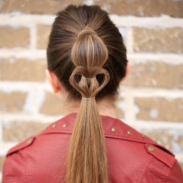The 9 Most Adorable Hair Heart Looks, According to Pinterest