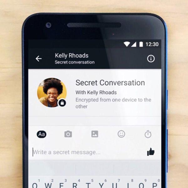 Facebook Messenger Is Introducing Secret, Self-Destructing Messages