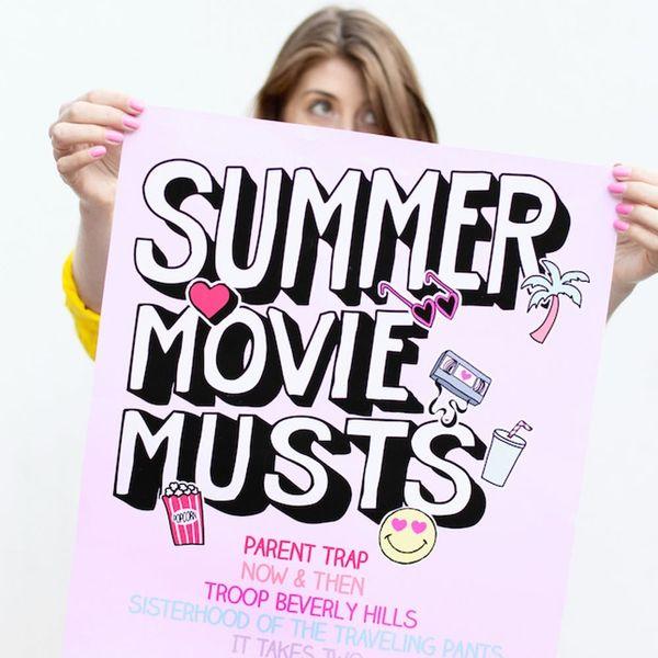 17 Ways to Throw the Best Outdoor Movie Night This Summer