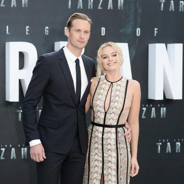 Why Margot Robbie and Alexander Skarsgard Are a BFF Dream Team