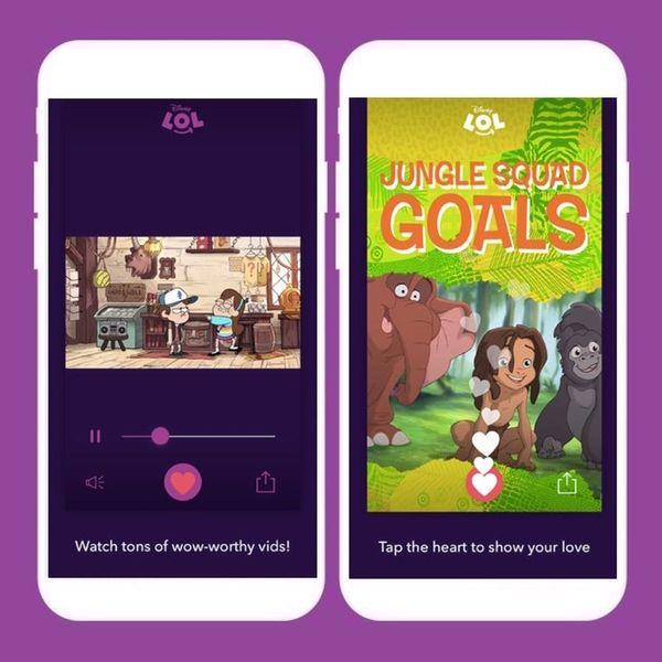 Disney's LOL App Wants to Make Social Sharing Safe for Kids