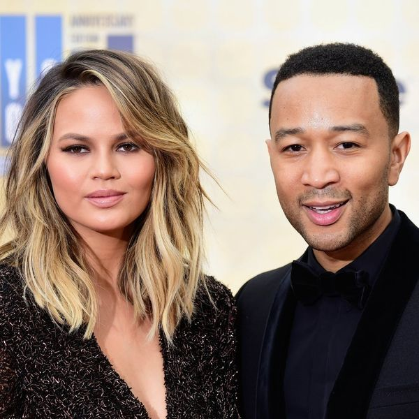 See Chrissy Teigen + John Legend's First Complete Family Insta Photo With Baby Luna