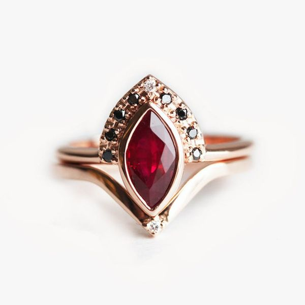13 Fiery Ruby Engagement Rings for the Modern Bride
