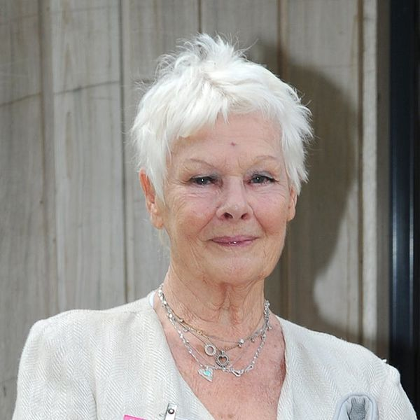 81-Year-Old Dame Judi Dench Just Got Her First Tattoo