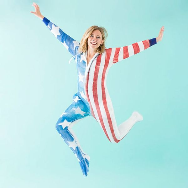DIY Flag Onesies Just Like T-Swift and Her Girl Gang