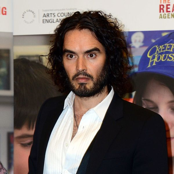 Russell Brand Has a Wedding AND a Baby on the Way