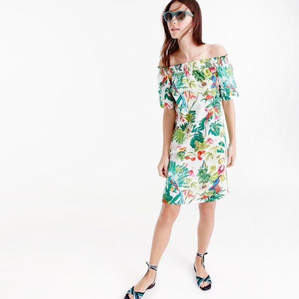 19 Off-the-Shoulder Dresses That Make Summer Dressing a Breeze