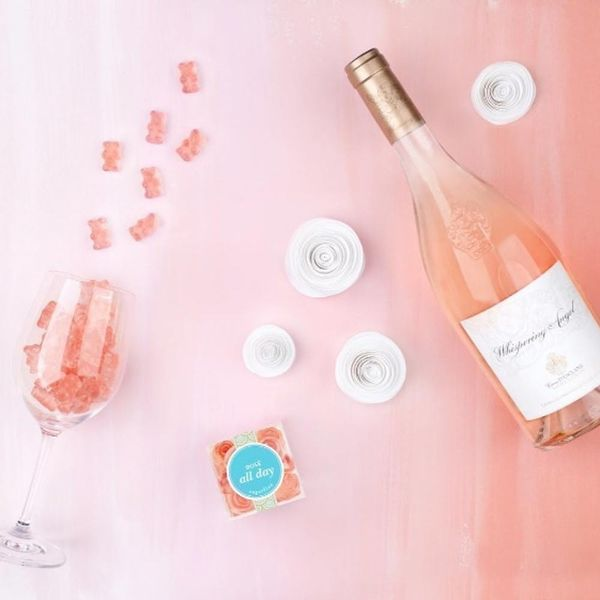 There's a 400-Person Wait List for These Rosé-Flavored Gummy Bears