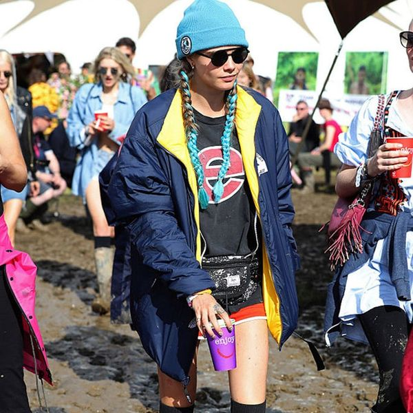How 4 Celebs Made Rain Boots Look Cute at London's Biggest Music Fest