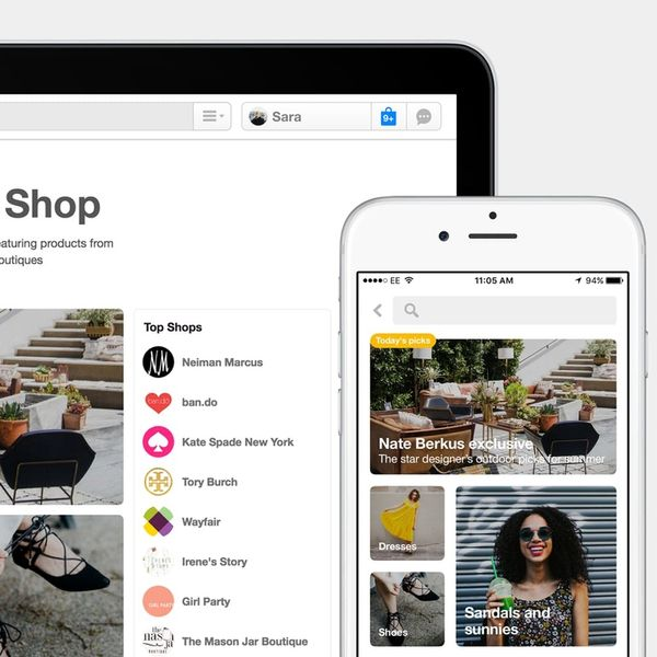 Alert: Shopping Directly on Pinterest Is Finally a Real Thing