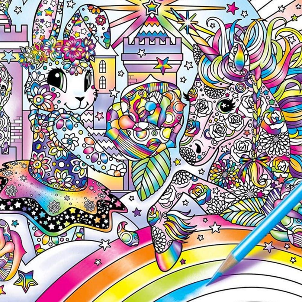 Prepare Your '90s-Loving Hearts: A Lisa Frank Adult Coloring Book Is  Happening - Brit + Co
