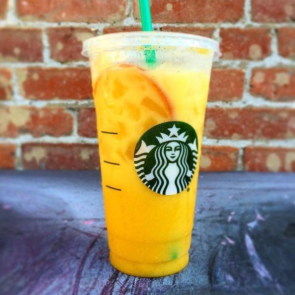 Starbucks' New Mystery Orange Beverage Joins the Tasty Summer Drink Trend