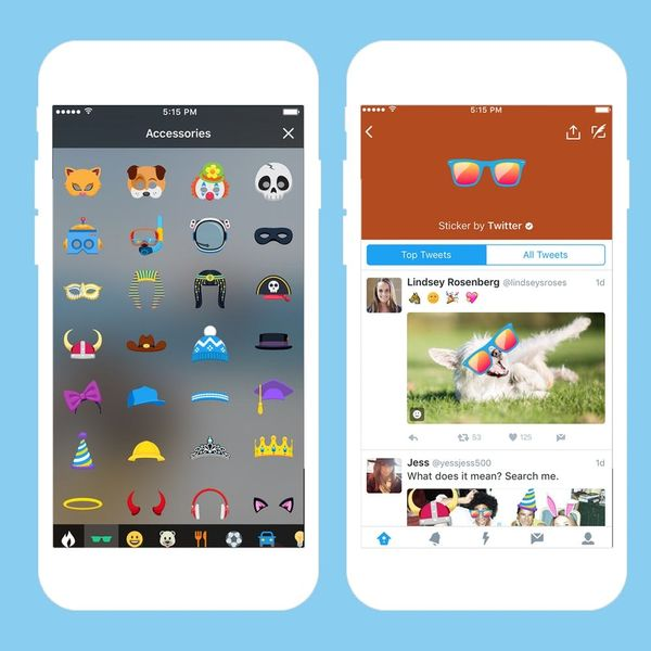 Twitter Is Changing the Sticker Game