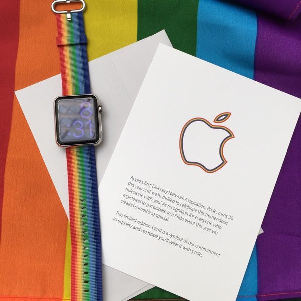 You'll Want This Employee-Exclusive Apple Pride Watch Band