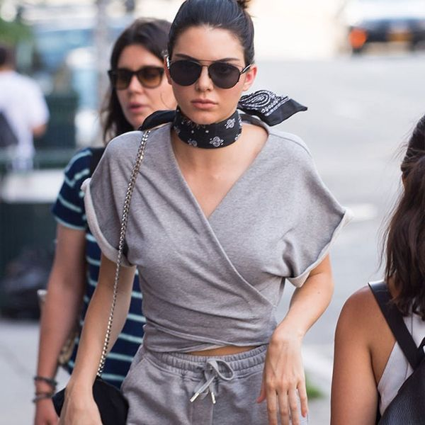 Hack Your Winter Sweatsuit for Summer Just Like Kendall Jenner