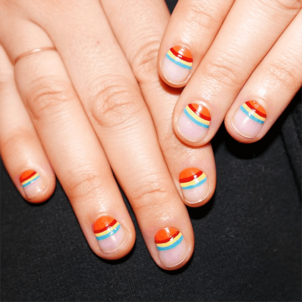 These Negative Space Manis Are Too Stylish to Pass Up