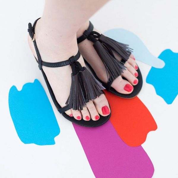 Make These $140 Tassel Sandals for Less Than $20