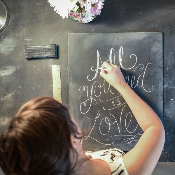 Get Started Chalk Lettering With Real Inspo from a Pro
