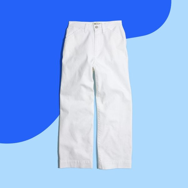 3 Easy Ways to Give White Jeans a Right-Now Update