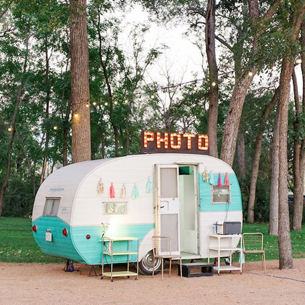 Tie the Knot With These 15 Retro-Inspired Camping Wedding Ideas