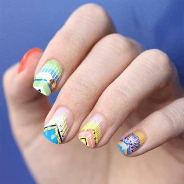Nail Summer's '70s Trend With a Fringe Mani