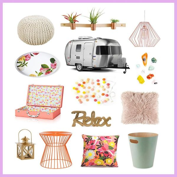 3 Glam Ways to Decorate Your Airstream Camper