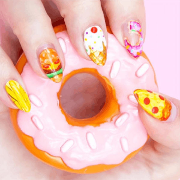 These Foodie Manicures Will Give You the Munchies