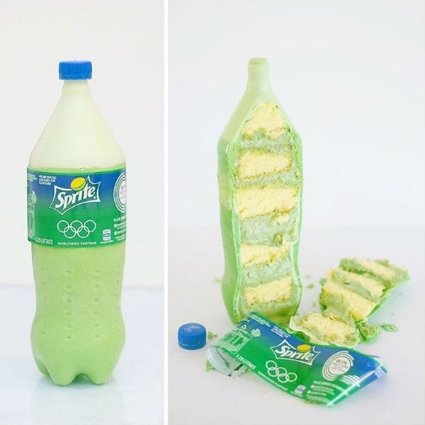 These Cakes Look EXACTLY Like Soft Drink Bottles
