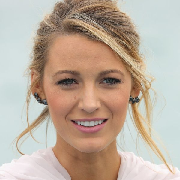 Blake Lively Pairs a Denim Jacket and Gown in a Totally WTF Look