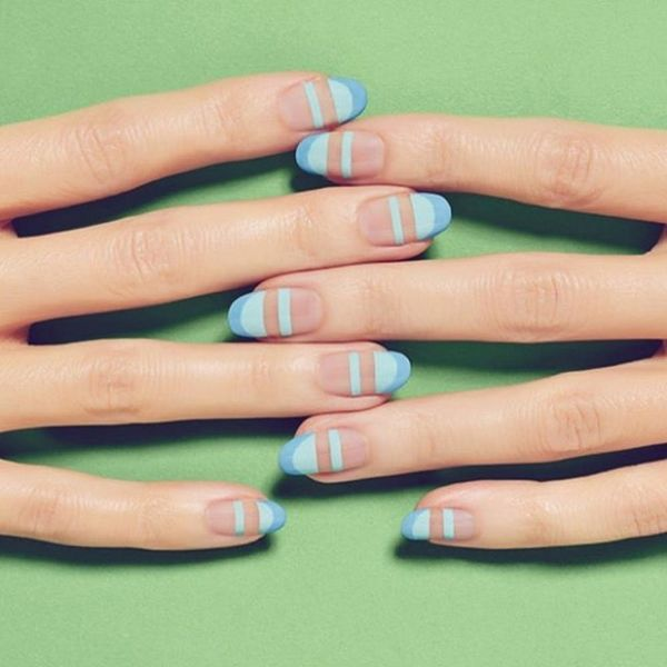 10 Two-Tone Manis That'll Take Your French Manicure to the NEXT Level