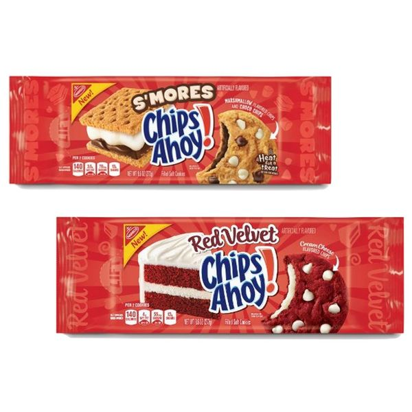 New S'mores and Red Velvet Chips Ahoy Flavors Will Make Your Summer