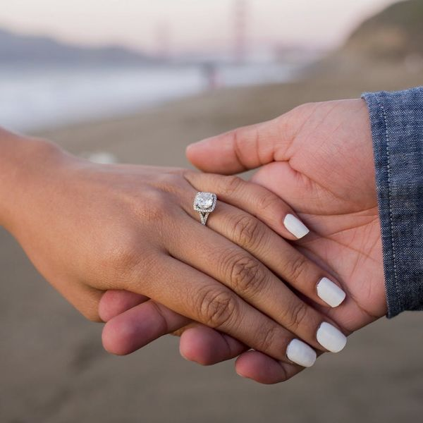 Here's How to Keep Your Engagement Ring Sparkling
