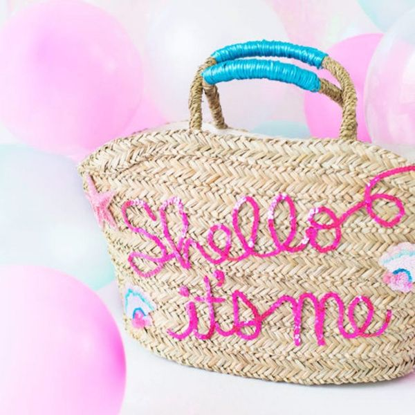 What to Make This Weekend: Sequin Beach Bag, Confetti Poppers and More