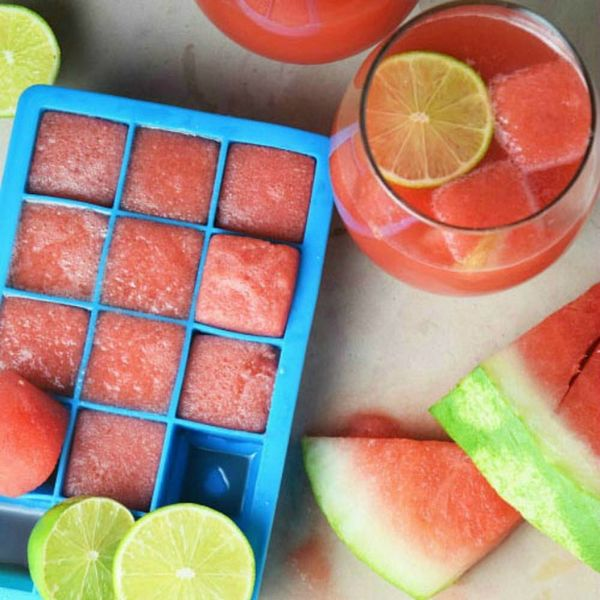 Watermelon Ice Cubes Are the Chillest Food Trend You'll See This Summer