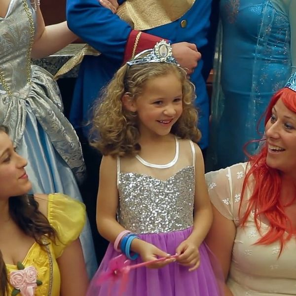 Disney Princesses Surprised This Little Girl to Make Her Adoption Final