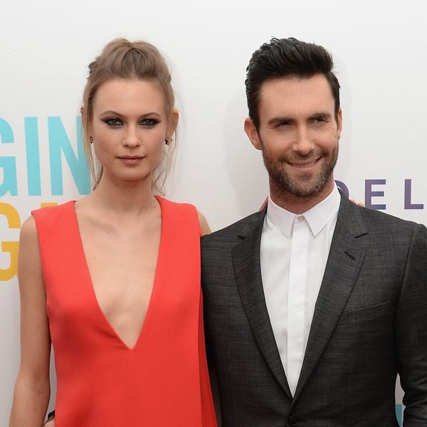 Adam Levine Instagrams a Semi-Nude Baby Bump Pic of Wife Behati Prinsloo