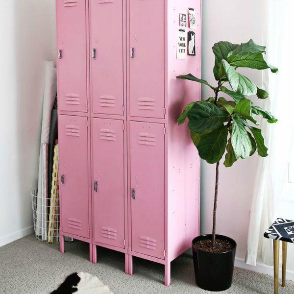 Proof That Vintage Lockers Can Look Ah-mazing in Every Room