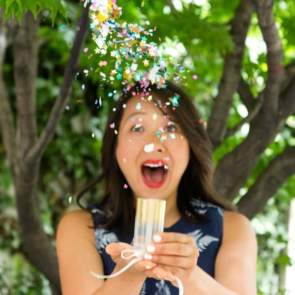 No Party Is Complete Without These DIY Confetti Poppers