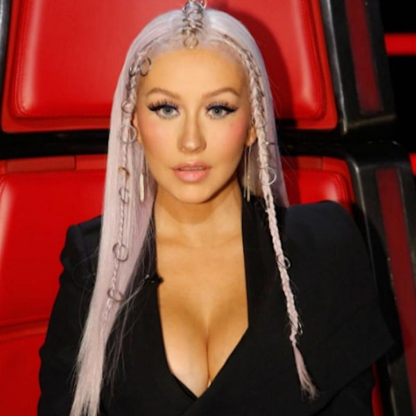 How to Hack Christina Aguilera's Insane Braid With Office Supplies