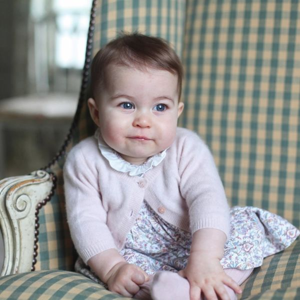 See the Pics from Princess Charlotte's First Balcony Appearance