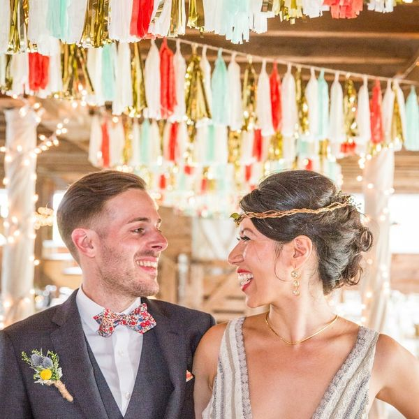 This Colorful Boho Barn Wedding Brings New Life to a Rustic Venue