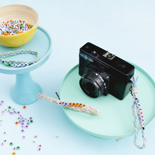 Carry Your Holga or Instax Mini With a DIY Camera Strap