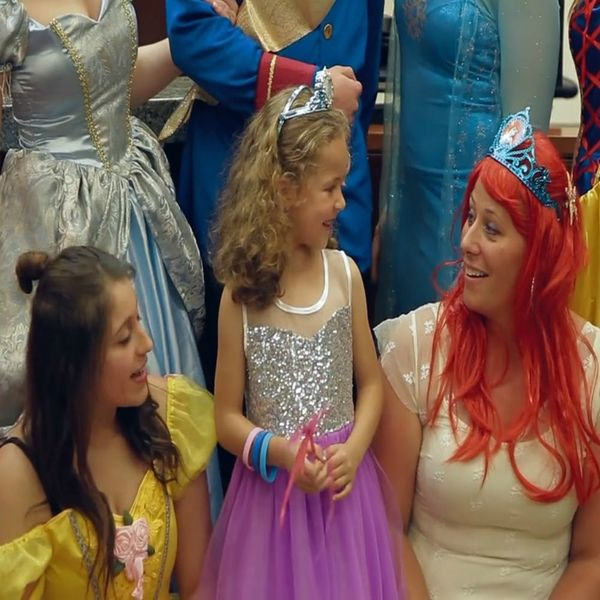 This Little Girl Had the Best Adoption Hearing Ever, Complete With Disney Princesses