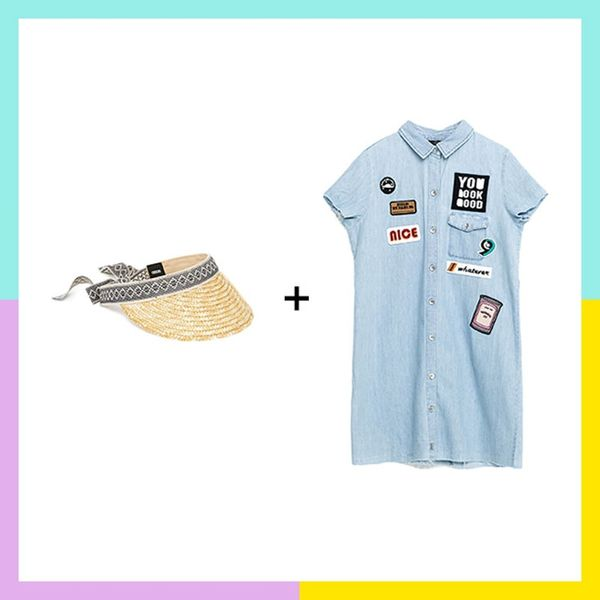 12 Flawless Embroidered Dress and Straw Hat Pairings to Live in All Summer Long