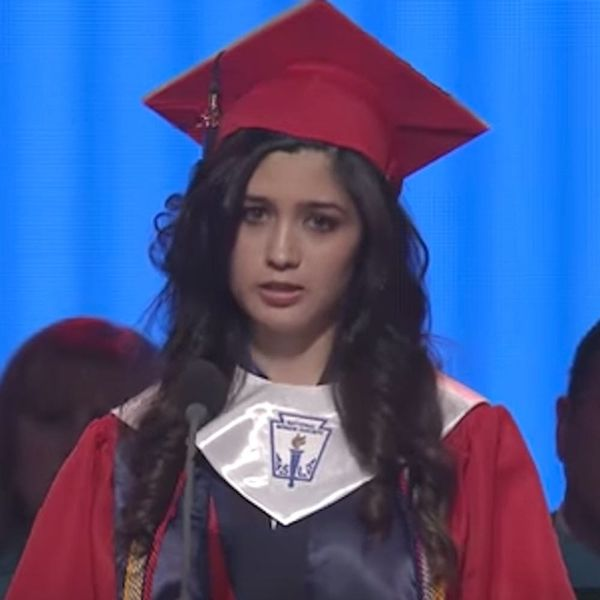 This High School Valedictorian's Moving Speech Is Going Viral for a Very Good Reason