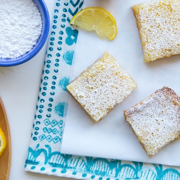 You Won't Miss Flour With These Gluten-Free Lemon Squares